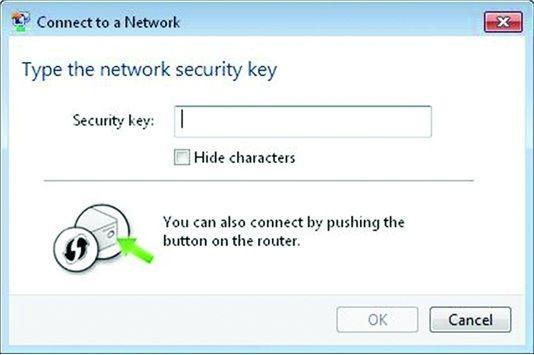 Окно для ввода PIN-кода WPS