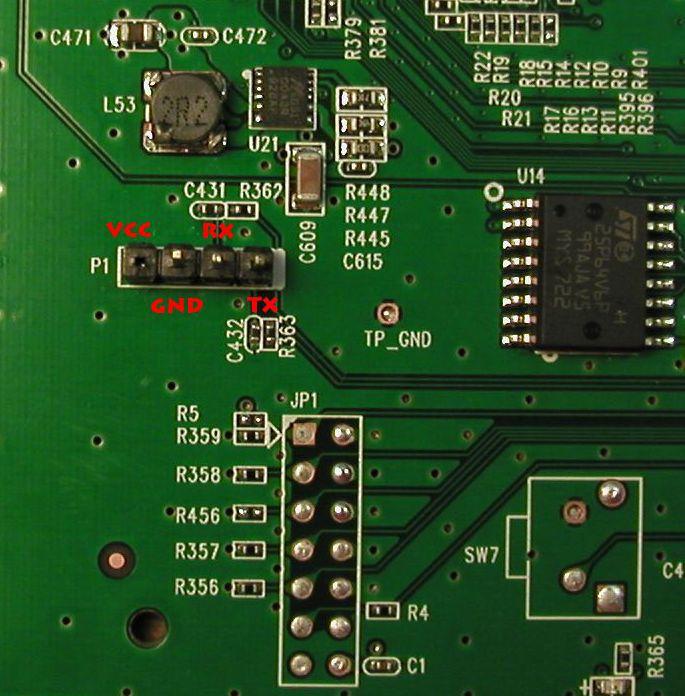 serial интерфейс на роутере TL-WR1043ND