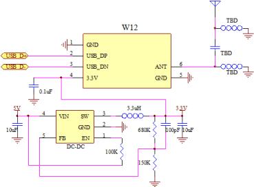 схема подключения антенны wifi